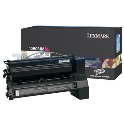 LEXMARK C750 PRINT CART MAGENTA